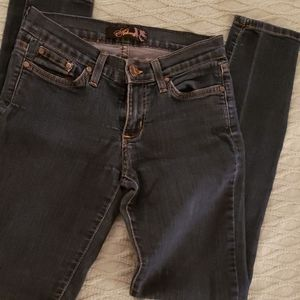 I for date blue skinny jeans size 3